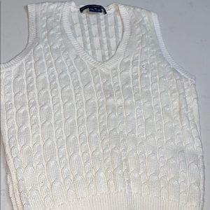 Ralph Lauren Golf Cable Knit Sweater Vest